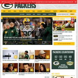 Packers.com, the official website of the Green Bay Packers
