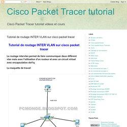Cisco Packet Tracer tutorial: Tutorial de routage INTER VLAN sur cisco packet tracer