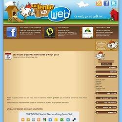 Les packs d'icones gratuites d'Aout 2010