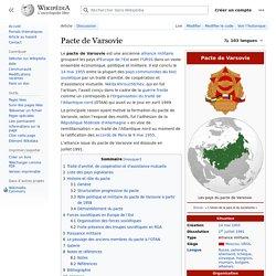 Pacte de Varsovie