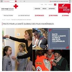 Pacte pour la santé globale des plus vulnérables