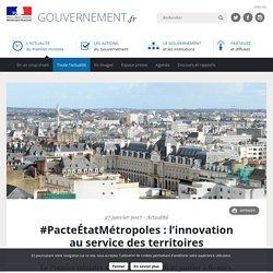 #PacteÉtatMétropoles : l'innovation au service des territoires