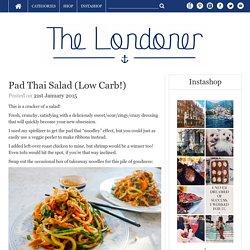 Pad Thai Salad (Low Carb!)
