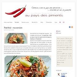 Pad thai - ma version