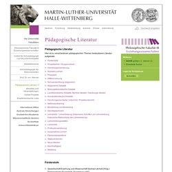 Pädagogische Literatur