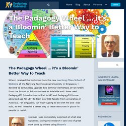 The Padagogy Wheel … it's a Bloomin' Better Way to Teach - In Support of Excellence