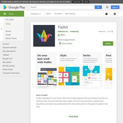 Padlet - Apps on Google Play