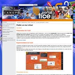 Padlet, un mur virtuel