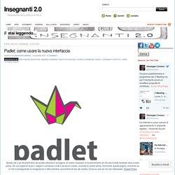 Padlet: come usare la nuova interfaccia