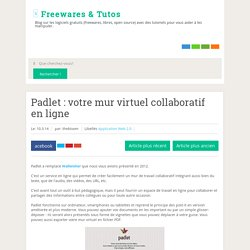 votre mur virtuel collaboratif en ligne