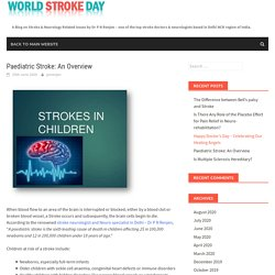Paediatric Stroke: An Overview