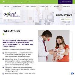 Paediatrics - Oxford Compounding