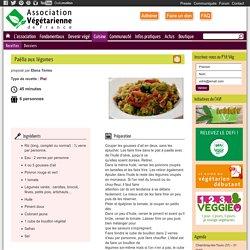 Paëlla aux légumes