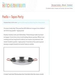 Paella + Tapas Party by The Kitchenarium