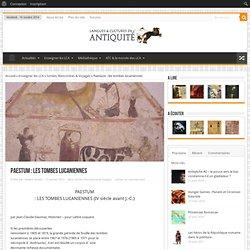 Paestum : les tombes lucaniennes