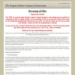 The Pagan Online Campus Classrooms