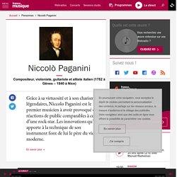 Niccolò Paganini - France Musique