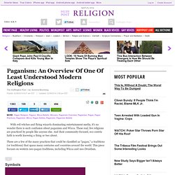 Paganism: An Overview Of One Of Least Understood Modern Religions