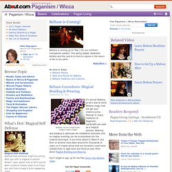 Paganism & Wicca - Pagan and Wiccan Religion
