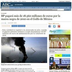 BP pagará más de 18.560 millones de euros por la marea negra de 2010 en el Golfo de México