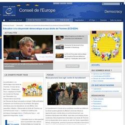 Page d'accueil ECD/EDH