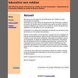 Site de l'éducation aux médias