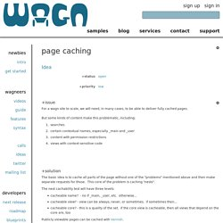 page caching