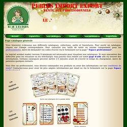Page catalogue générale