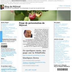 Page de Marcel