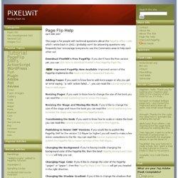 Page Flip Help « PiXELWiT
