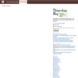 Thingology (LibraryThing's ideas blog): LCSH.info, RIP