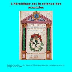 Page héraldique (Dibout.fr)