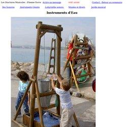 page instruments d'eau