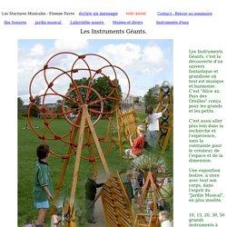 page instruments géants