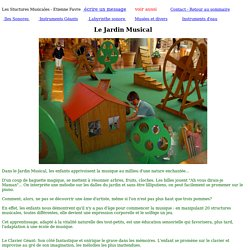 page jardin musical