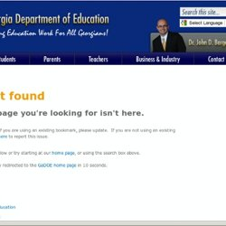 Georgia Department of Education - CCGPS