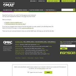 GMAT Write™