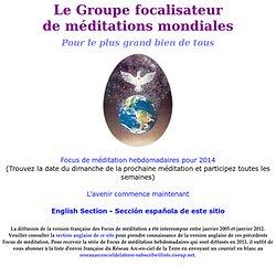 Page Web du Groupe focalisateur