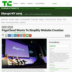 PageCloud Wants To Simplify Website Creation