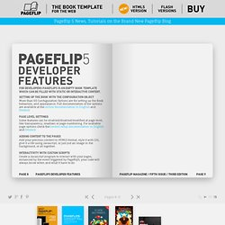 Pageflip 5 - The HTML5 Book Template