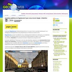 Les belles ambitions de PageJaunes.fr pour concurrencer Google :