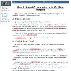 Les pages HG d'André Cotte - Espace de Mme Lallement