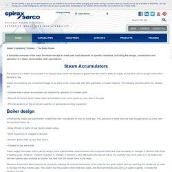 Pages - Steam Accumulators