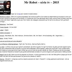 PageWeb_Mr_Robot