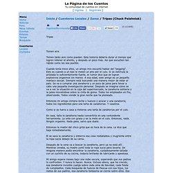 La Página de los Cuentos - Texto 'Tripas (Chuck Palahniuk)' de Zama