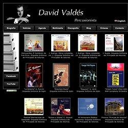 Página oficial de David Valdés - Discografía.