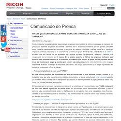 Página Oficial de Ricoh ® - Acerca de Ricoh