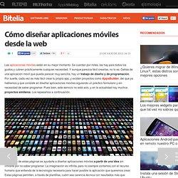 Páginas web para diseñar aplicaciones móviles sin saber programar
