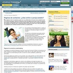 Páginas de contactos de pareja - eDarling