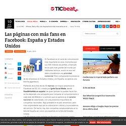 Las páginas con más fans en Facebook: España y Estados Unidos